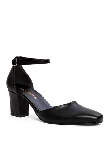 Sole Sisters Topuklu Ayakkabı Siyah - Andhearts2 Siyah